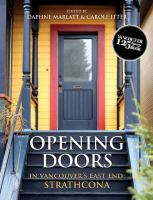 Opening Doors in Vancouver's East End