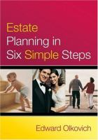 Estate Planning in Six Simple Steps