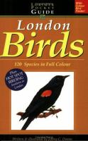 The Lorimer Pocketguide to London Birds