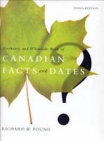 The Fitzhenry and Whiteside Book of Canadian Facts and Dates