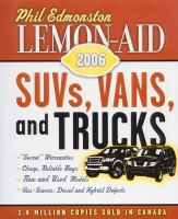 Lemon-aid SUVs, Vans, And Trucks, 2006
