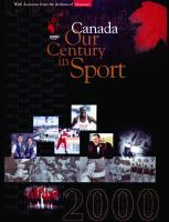 Canada, Our Century in Sport