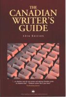 The Canadian Writer's Guide