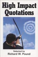 High Impact Quotations