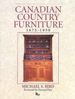 Canadian Country Furniture, 1675-1950