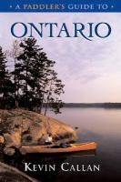 A Paddler's Guide to Ontario