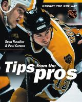 Hockey Tips From the Pros