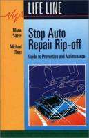 Stop Auto Repair Rip-off