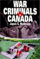 War Criminals in Canada