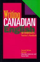 Writing Canadian English