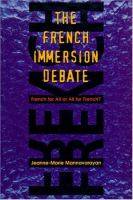 The French Immersion Debate