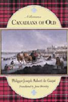 Image: Canadians of Old