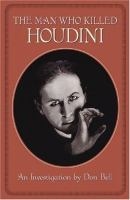 The Man Who Killed Houdini