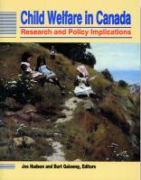 Child Welfare In Canada