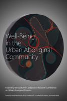 Well-being in the Urban Aboriginal Community
