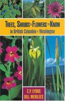 Trees, Shrubs & Flowers to Know in British Columbia & Washington