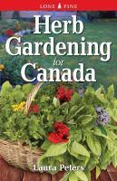 Herb gardening for Canada