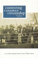 Contesting Canadian Citizenship