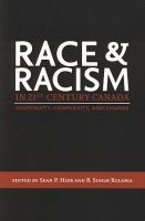 Race and Racism in 21st-century Canada