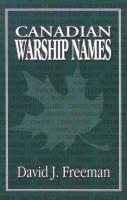 Canadian Warship Names