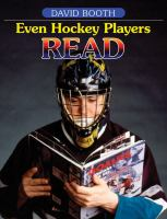 Even Hockey Players Read
