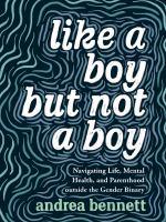 Image: Like A Boy but Not A Boy