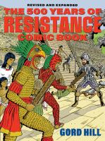 The 500 Years of Indigenous Resistance Comic Book cover