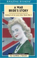 A War Bride's Story