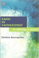 Faith in Faithlessness