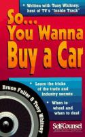 So-- You Wanna Buy A Car