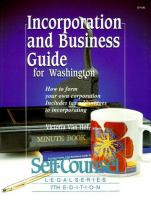 Incorporation and Business Guide for Washington