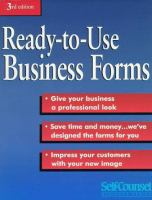 Ready-to-use Business Forms