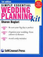 Simply Essential Wedding Planning Kit