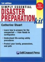 Simply Essential Disaster Preparation Kit