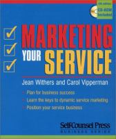 Marketing your Service