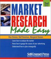 Market Research Made Easy (Sales & Marketing Series)