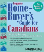 Complete Home-buyer's Guide for Canadians