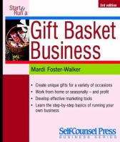 Start & Run A Gift Basket Business