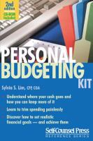 Personal Budgeting Kit