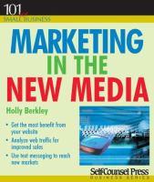 Marketing in the New Media