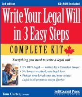 Write your Legal Will in 3 Easy Steps