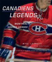 Canadiens Legends