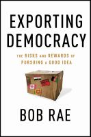 Exporting Democracy