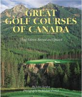 The Great Golf Courses of Canada