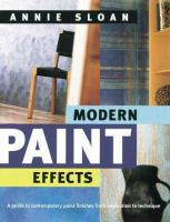 Modern Paint Effects