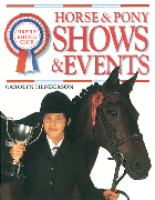 Horse & Pony Shows & Events