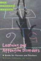 Learning and Attention Disorders