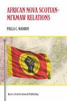 African Nova Scotian-Mi'kmaw Relations