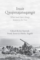 Inuit Qaujimajatuqangit