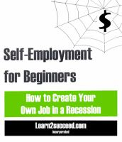 Self-employment for Beginners